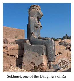 Sekhmet, one of the Daughters of Ra.